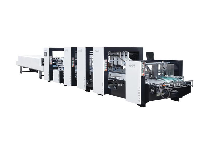 LK-PC Auto High-Speed Folding Gluing Machine
