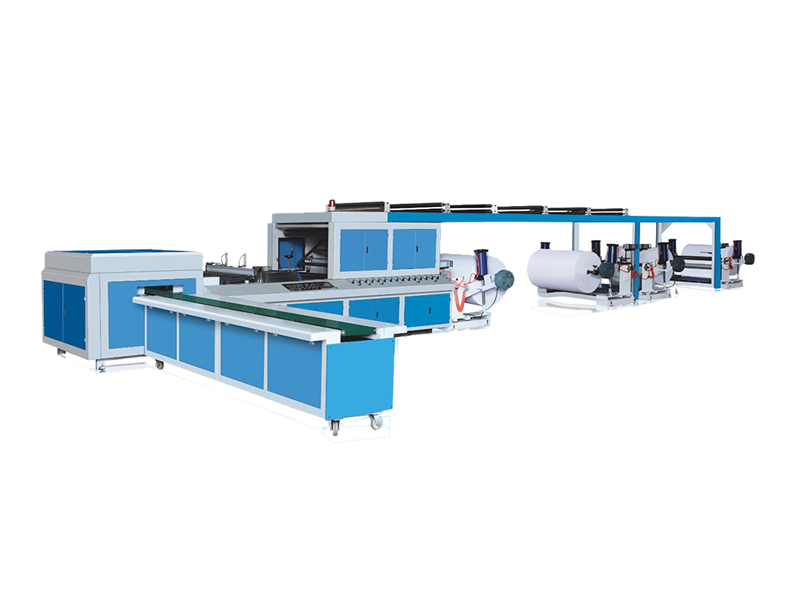 HQJ-A4 4 Rolls Paper Cutting Machine
