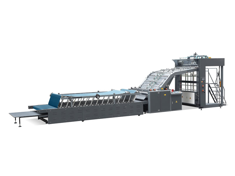 LK-1300D Manual&Auto Flute Laminating Machine