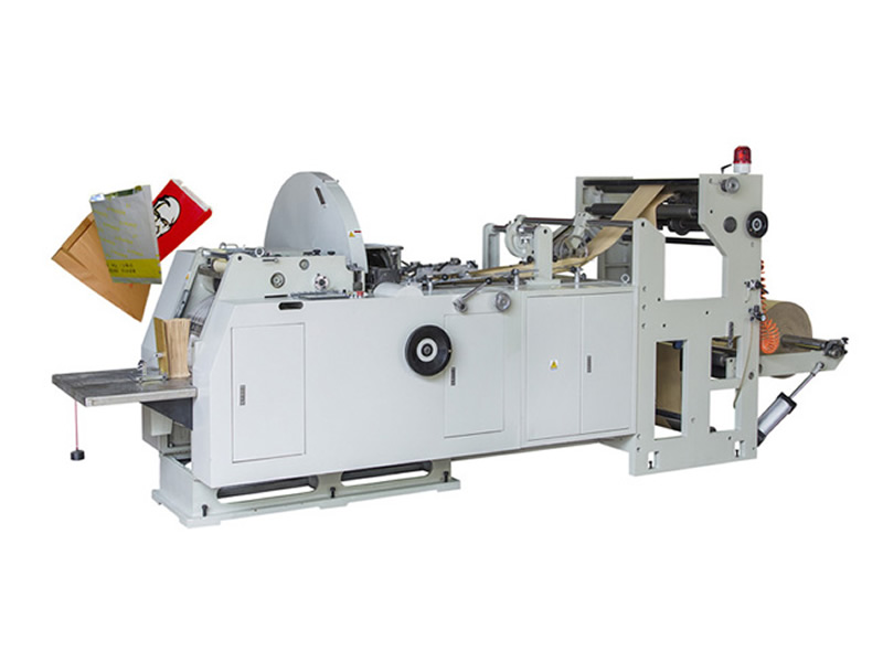 LMD-400 Automatic Flat Bottom Food Paper Bag Making Machine