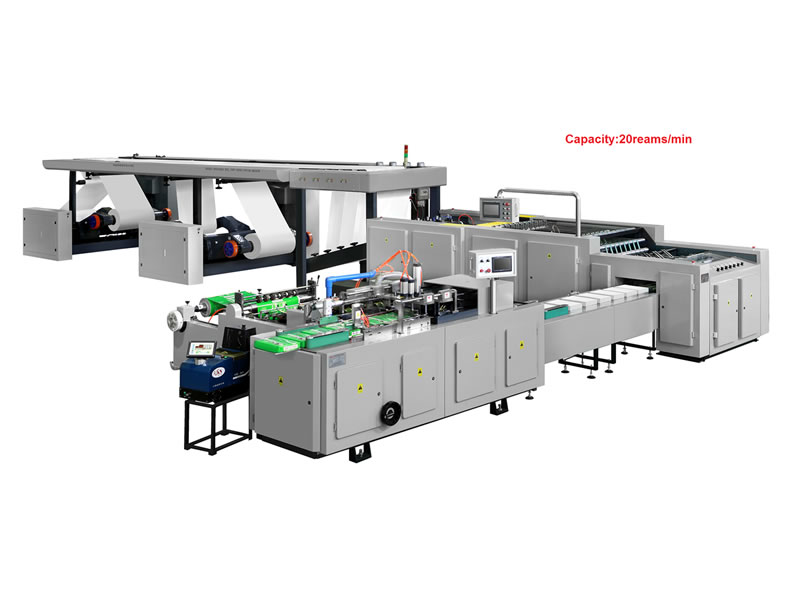 A4 Paper Cutting and Packing Machine Production Line