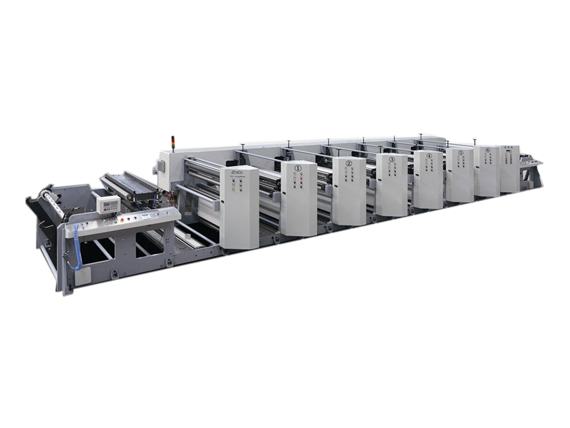 YT-1000C Wide Web  Flexographic Printing Machine